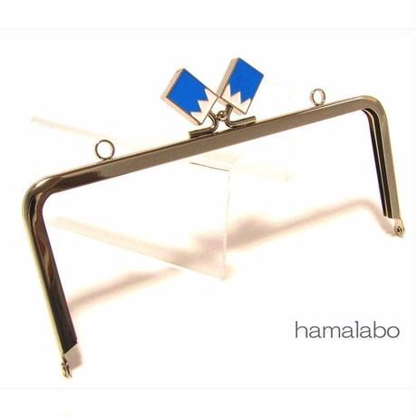 【HA-1464】18cm/角型(新撰組×シルバー)・カン付き