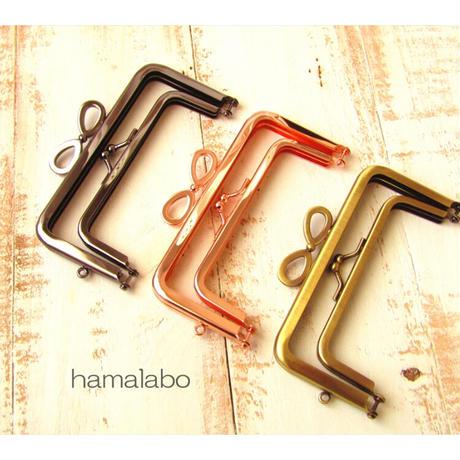 1月20日販売開始!【HA-1770】親子口金12cm(リボン×ローズゴールド)