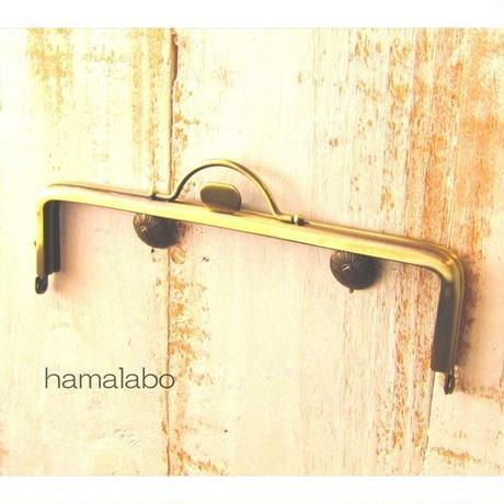 9月17日販売開始!【HA-1577】持ち手付きの押し口金16.5cm/角型(アンティークゴールド)