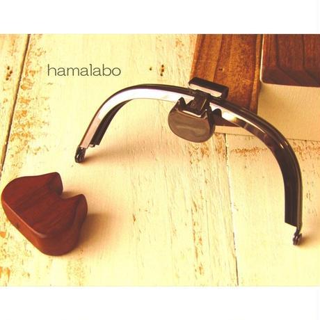 8月1日販売開始!【HA-1568】オコシ式口金10cm/くし型(ネコ×ブラック)