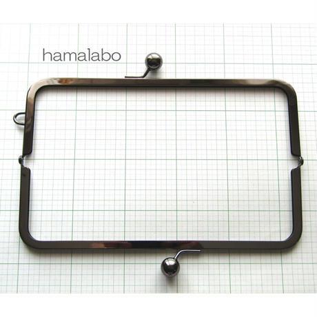 8月20日販売開始!【HA-1909】27cm大玉口金/角型ブラック/+(プラス)