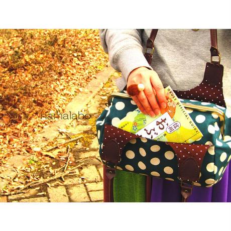 6月27日販売開始!【KT-2070】がま口俵型あおりバッグの型紙&レシピ【27cm/角型用】
