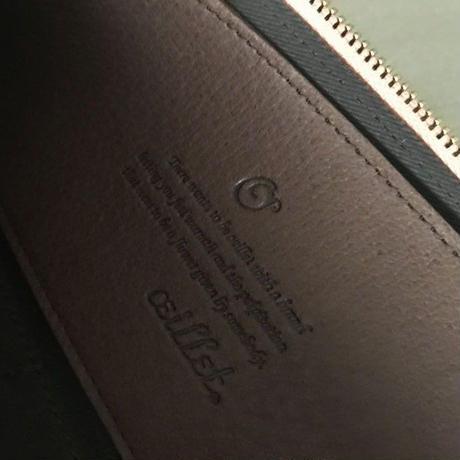 oeillet(ウイエ)/estampe(エスタンプ) L型ロングウォレット 10084