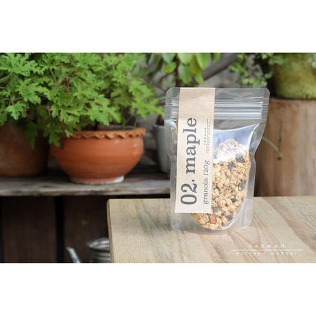 "FARMAN KTICHEN MARKET Original Granola ""maple"""