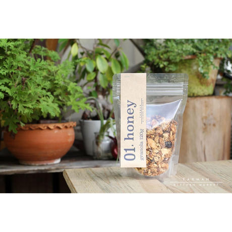 "FARMAN KTICHEN MARKET Original Granola ""honey"""