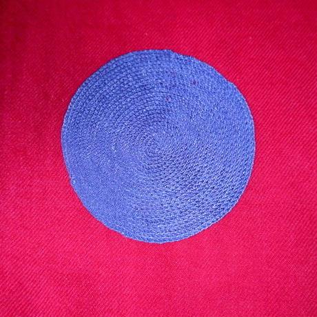 Kashmir Loom (Polka Dots /  Red)