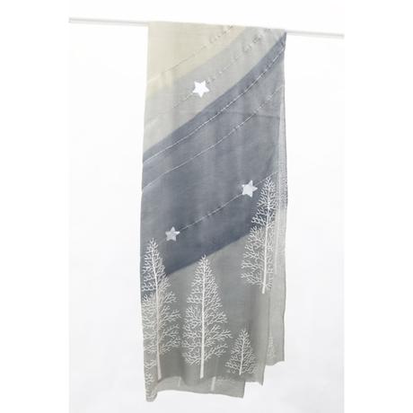 Plume Nova  (Starry night)  ウール50%/シルク50% SS-18/08AB