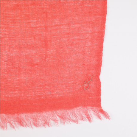 Kashmir Loom −Solid (単色)  色:Light Orange