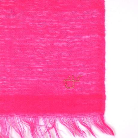Kashmir Loom −Solid (単色)   色:Rasberry