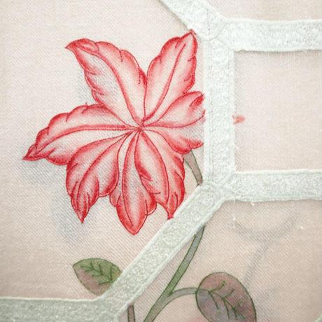 Plume Nova  (Pumica Lattice / Pink)  ウール50%/シルク50% SS-18G/03A