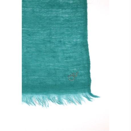 Kashmir Loom −Solid (単色)  色:Enamel (エメラルドグリーン)