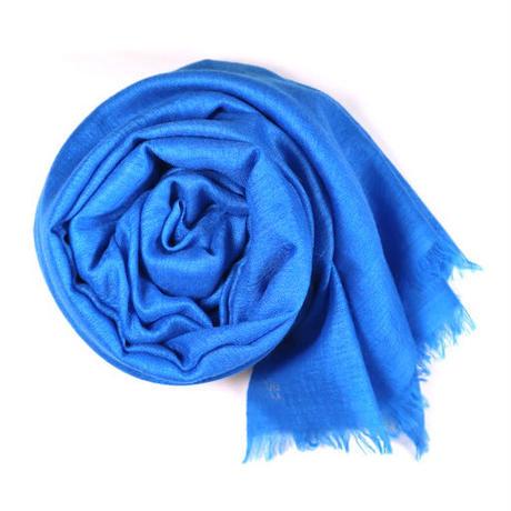 Kashmir Loom −Solid (単色)  色:Bright Blue (ブルー)