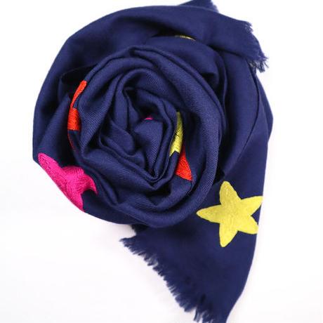 Kashmir Loom (Allover Stars / Navy Multi)