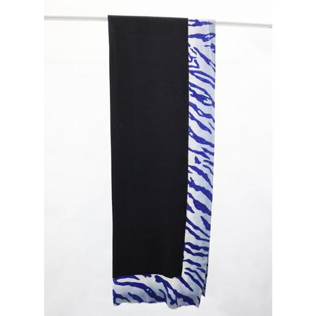Plume Nova  (Serengeti / Black × Blue)  ウール85%/シルク15% SS-18/63C