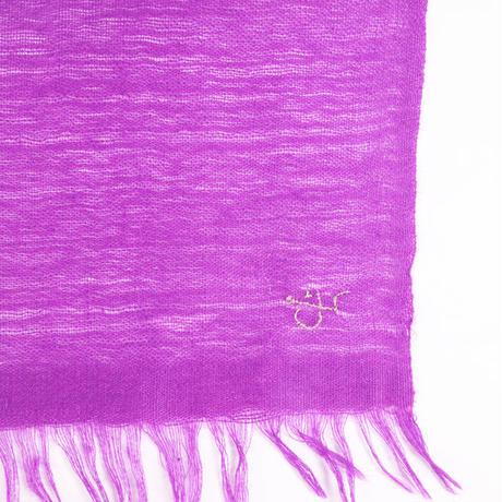 Kashmir Loom −Solid (単色)  色:Amaranth 濃紫