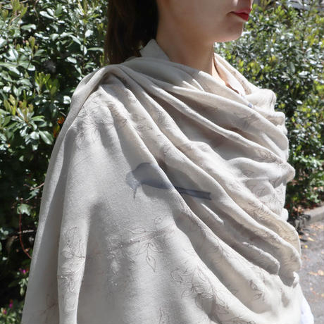 Plume Nova  (Tuscany Garden)  ウール50%/シルク50% PNW17-WS-26