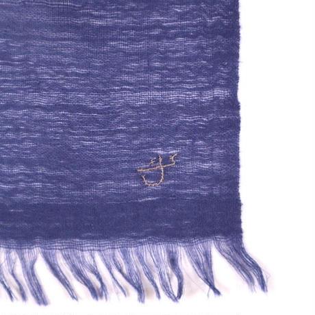 Kashmir Loom −Solid (単色)  色:Sailor (薄紺)