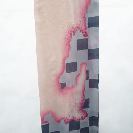 Plume Nova  (checkerboard)  ウール50%/シルク50% SS-18/80A
