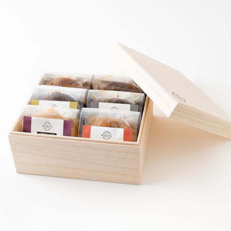 【贈り物に!】島根県産MISOJYUの有機生みそ 木箱6つ&玄米甘酒セット