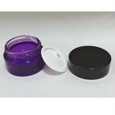 【4周年SALE】20gガラスクリーム容器  5個セット
