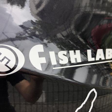 FISHLABOオリジナルカッティングステッカー Mサイズ