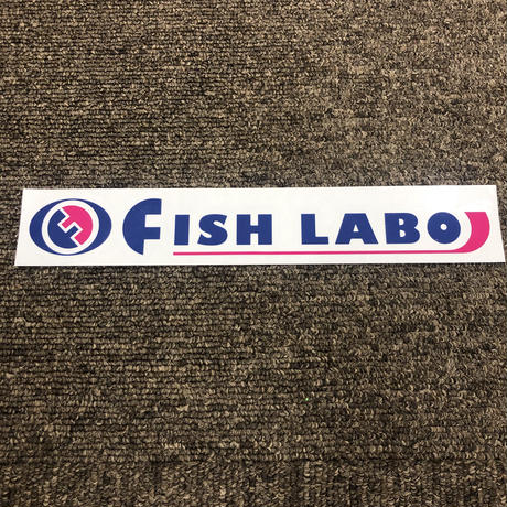 FISHLABOオリジナルカッティングステッカー Lサイズ