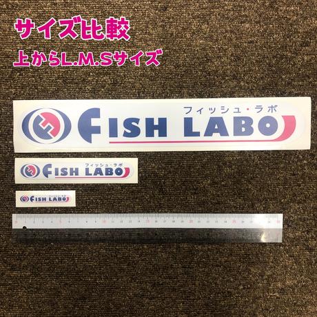 FISHLABO オリジナルステッカー Mサイズ
