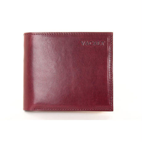 BI-FOLD WALLET [BORDEAUX]