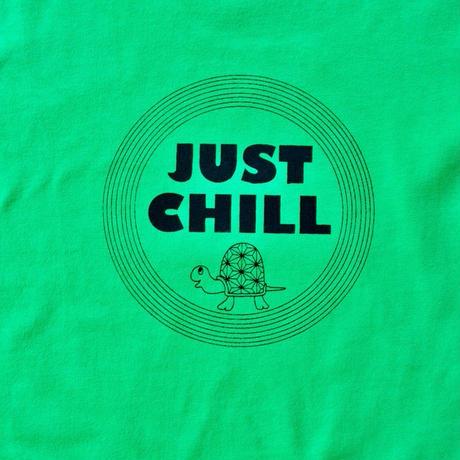 【キッズ120】ジャストチルTシャツ◎グリーン