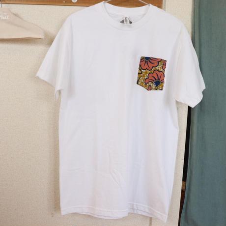"【Unisex-Msize】African pocketTshirt ""icho"""
