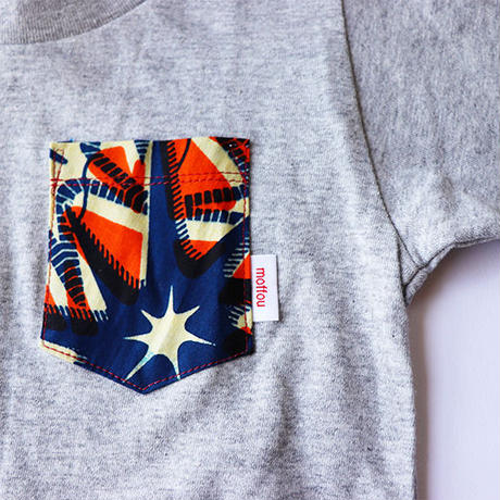 Africanpocket Tshirt-kids120《CRUSH》