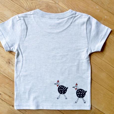【キッズ120】お散歩ホロホロ鳥◎オリジナルTシャツ