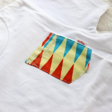 "【kids-120】African pocketTshirt ""native showa"""