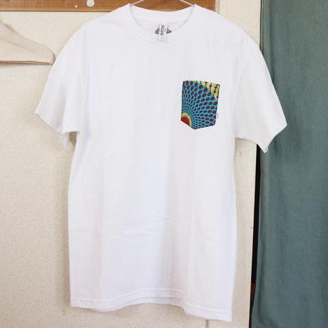 """【Unisex-Msize】African pocketTshirt """"circle"""""""