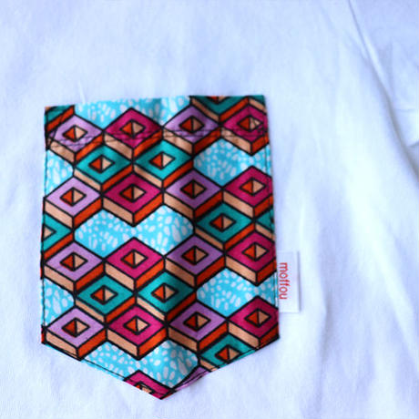 Africanpocket Tshirt-WM《DICE》