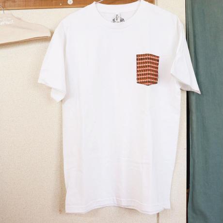 "【Unisex-Msize】African pocketTshirt ""smallgrain"""