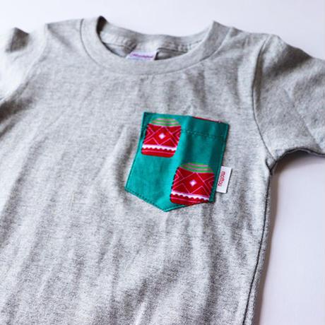 Africanpocket Tshirt-kids100《TAIKO》