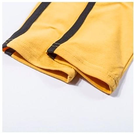 【予約商品】YELLOW STRIPE SHORT TOPS