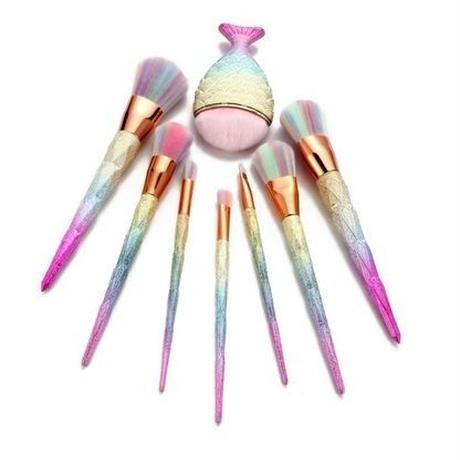 【予約商品】Rainbow Make-Up Brush (7pacs)