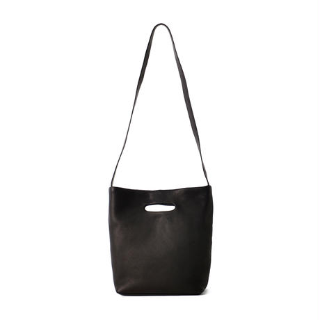 DA03 / DEER LEATHER SHOULDER TOTE : S