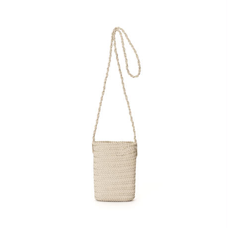 KG15 / LEATHER THIN BASKET XS