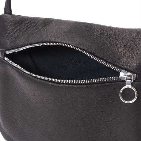 DA06 / DEER LEATHER FLAT POUCH SHOULDER typeA