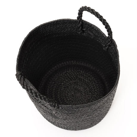 KG21 / LEATHER CYLINDER BASKET M