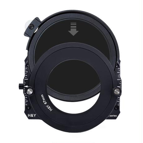 100mm K-Series ドロップイン CPL/ND1000フィルター(Drop-In CPL/ND1000 Filter for 100mm K-Series Filter Holder)