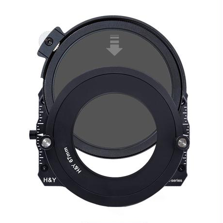 100mm K-Series ドロップイン CPL/ND32フィルター(Drop-In CPL/ND32 Filter for 100mm K-Series Filter Holder)