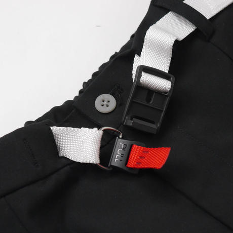 Black PL Lock Trousers