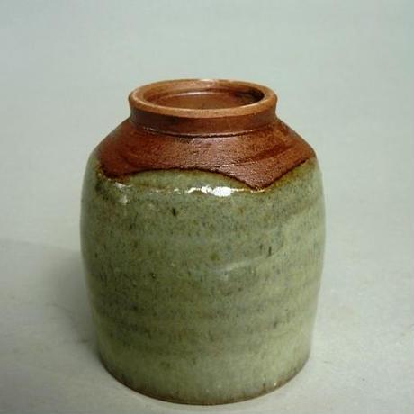 藁灰釉湯呑