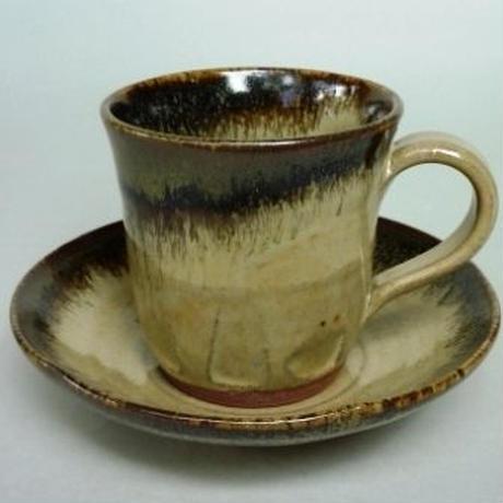 ナマコ釉コーヒーカップ