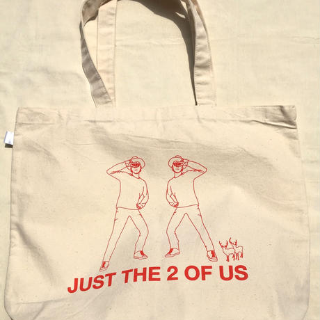 JUST THE 2 OF US トートバッグ