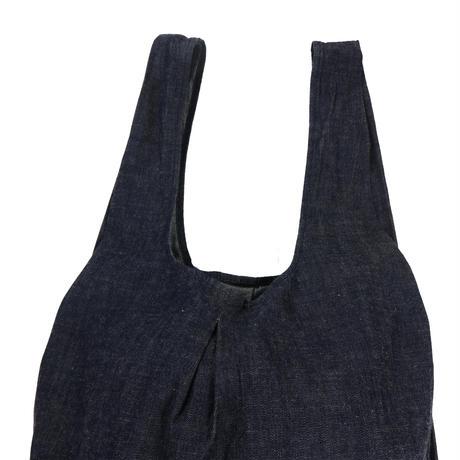 denim shopping bag